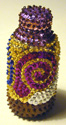 sequin bottle, Haiti