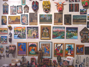 Exhibit: Folk Art and Crafts from Latin America
